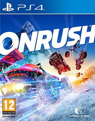 ONRUSH Day One Edition (PS4)  BRAND NEW AND SEALED - QUICK DISPATCH - IMPORT