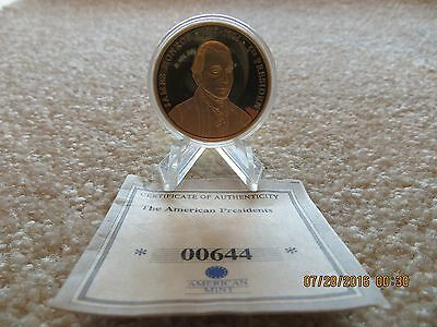 AMERICAN MINT  James Monroe Presidential Coin Token