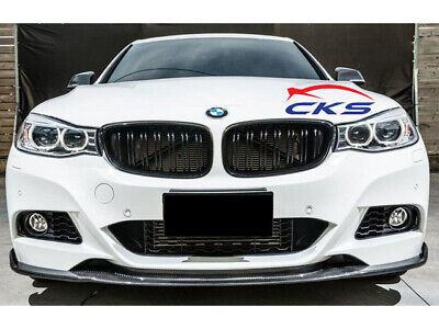 BMW F34 3 Series GT Gran Turismo Kidney Grill Grille Gloss Black Twin Bar M Look