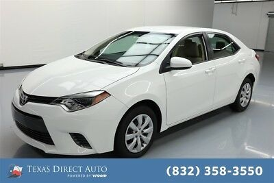 Toyota Corolla L 4dr Sedan Texas Direct Auto 2016 L 4dr Sedan Used 1.8L I4 16V Automatic FWD Sedan