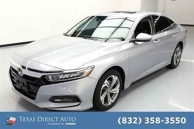 Honda Accord EX 1.5T Texas Direct Auto 2018 EX 1.5T Used Turbo 1.5L I4 16V Automatic FWD Sedan