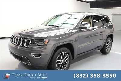 Jeep Grand Cherokee Limited Texas Direct Auto 2017 Limited Used 3.6L V6 24V Automatic RWD SUV