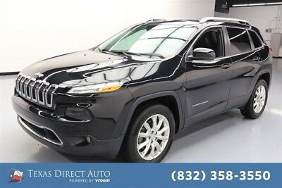 Jeep Cherokee Limited Texas Direct Auto 2015 Limited Used 3.2L V6 24V Automatic 4WD SUV Moonroof