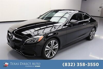 Mercedes-Benz C-Class C 300 Texas Direct Auto 2017 C 300 Used Turbo 2L I4 16V Automatic RWD Coupe Premium