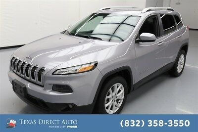 Jeep Cherokee Latitude Texas Direct Auto 2018 Latitude Used 2.4L I4 16V Automatic FWD SUV Premium
