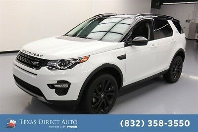 Land Rover Discovery Sport HSE LUX Texas Direct Auto 2015 HSE LUX Used Turbo 2L I4 16V Automatic 4WD SUV Moonroof