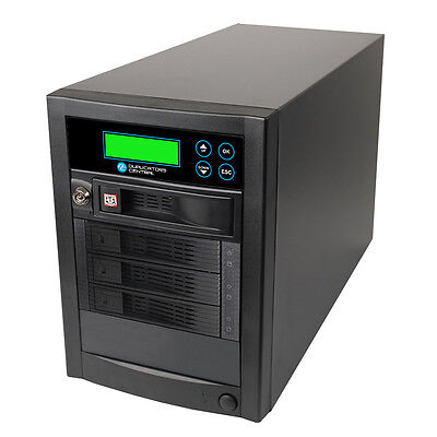 1 to 3 High Speed 150mps SATA Hard Drive HDD & SSD Memory Clone Copy Duplicator
