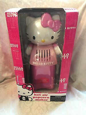 Sanrio HELLO KITTY Pink Electric POPCORN POPPER Hot Air Appliance Maker in Box