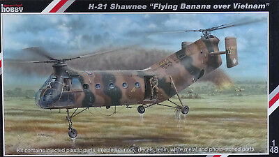 "SPECIAL HOBBY 48062 H-21 Shawnee ""Flying Banana over Vietnam"" in 1:48"