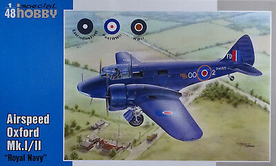 SPECIAL HOBBY 48152 Royal Navy Airspeed Oxford Mk.I/II in 1:48