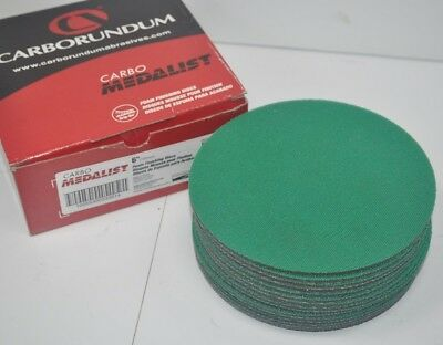 """Carbo Medalist 3000 Grit 6"""" Grip-On Foam Finishing Discs - Box of 15  53381"""