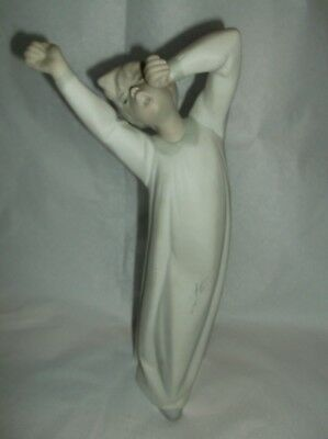 Lladro Boy  Figurines circa 1980's,Made in Spain-Excellent
