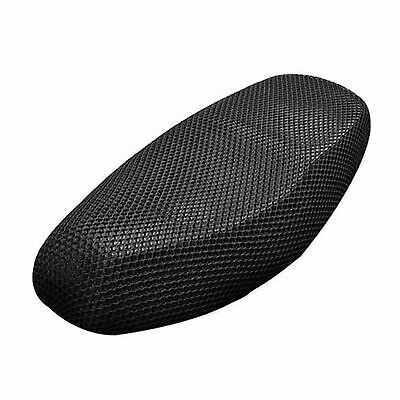 XXL Black Motorcycle Scooter Net Seat Full Cover Breathable Protector Cushion