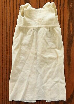 Vintage baby clothes gown wrap-around wool nightie DISPLAY ONLY 1930s 1940s