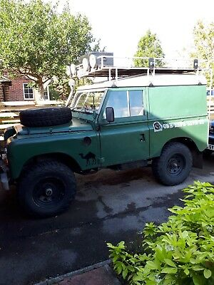 1975 Series 3 2 1/4 Petrol Land Rover
