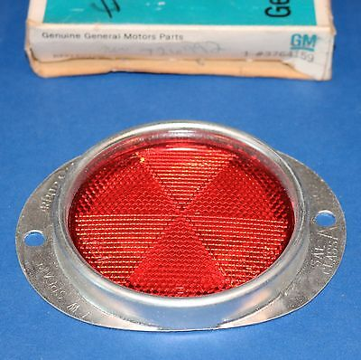 Chevrolet Chevy GM GMC truck reflector red NOS 3764159