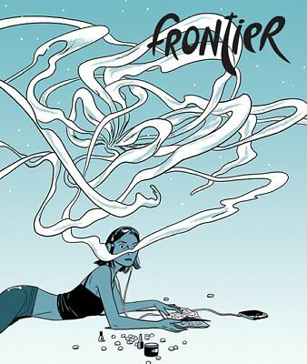 """FRONTIER #7 - """"Sexcoven"""" by Jillian Tamaki - Youth in Decline 2015 1st Print"""