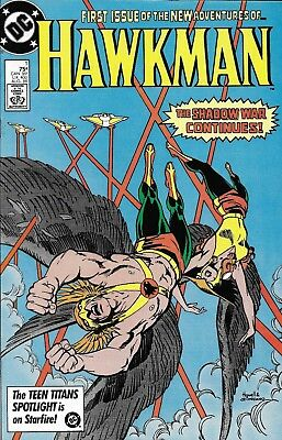 Hawkman Comic Issue 1 Copper Age First Print 1986 Isabella Howell Heck Wolfman
