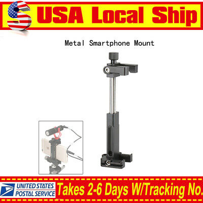 Ulanzi ST-03 Metal Smart Phone Tripod Mount Bracket Stabilizer Stand Pocket Size