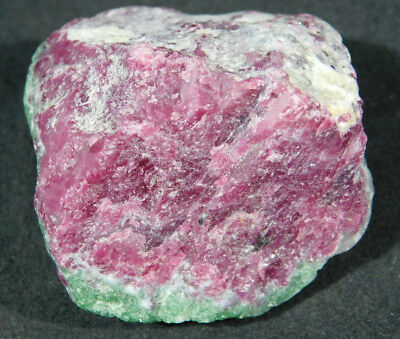 A 100% Natural Red RUBY Crystal In A Light Green Zoisite Matrix! Tanzania 98.8gr