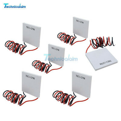 1/2/5/10PCS TEC1-12706 Heatsink Thermoelectric Cooler Cooling Peltier Plate 12V