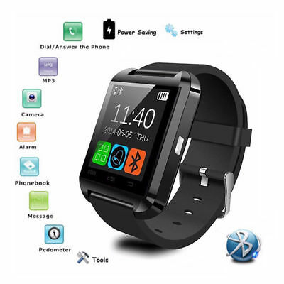 U8s Smart Watch Bluetooth Pedometer Wrist Watch Anti-Lost For Android Phone