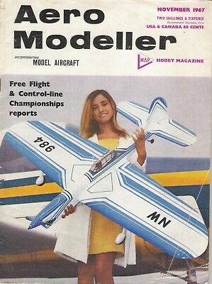 "Aero Modeller Magazine. Volume XXXII, No. 382, November, 1967. ""Wright Martin M8"