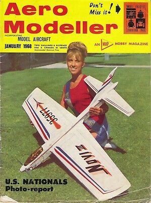 "Aero Modeller Magazine. Volume XXXIII, No. 384, January, 1968. ""Wee-Wun""."