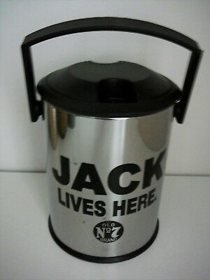 Jack Lives Here Ice Bucket Old No. 7 Advertising Home Bar Parties