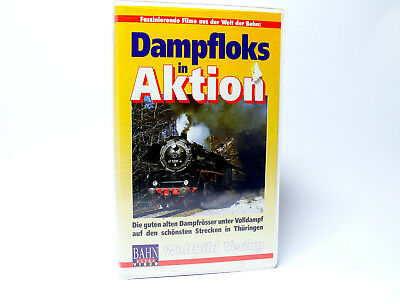 Bahn-Extra Video VHS Video   Dampfloks in Aktion   Strecken in Thüringen !