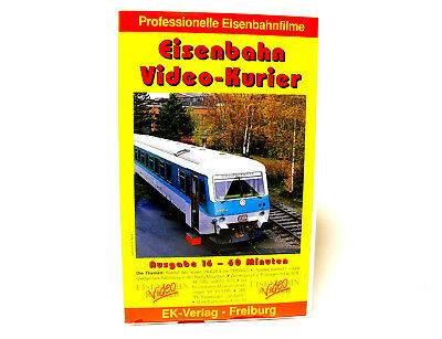 EK 16  Eisenbahn Video Kurier Ausgabe 16    VHS Video    Duewag etc.