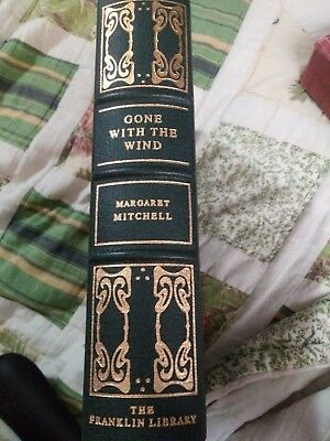Gone With The Wind - Margaret Mitchell - Franklin Library - 1978