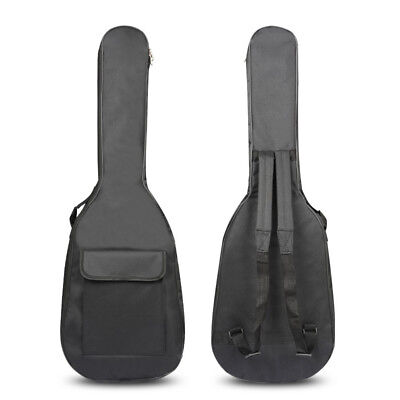 600D 5mm Thick Cotton Electric Guitar Bag Soft Case Waterproof Material Backpack