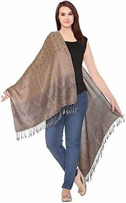 Pashmina Feel Shawl Scarf Wrap Stole Luxuriously Warm Soft & Silky Touch