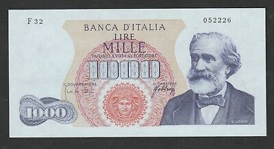 1000 Lire From Italy 1965 Unc