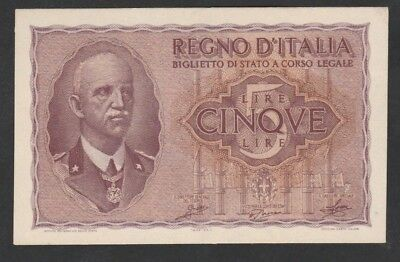 5 Lire From Italy 1944 Unc