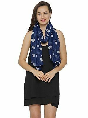 Sheep Print Design Scarves for Women Lightweight Large Size Scarf
