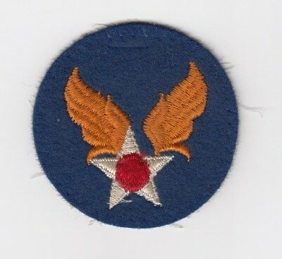 Us Army Air Corps Patch - Usa Air Force - Felt/wool