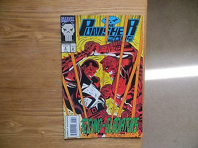 1993 Vintage Marvel Comics Punisher 2099 # 6 Signed By Jimmy Palmiotti With Poa