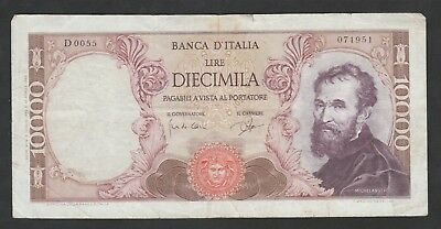 10000 Lire From Italy 1962