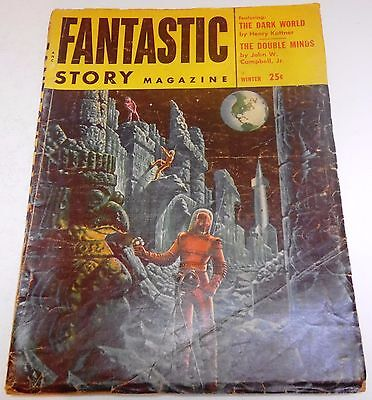 Fantastic Story Magazine – US Pulp – Winter 1954  – Vol.6 No.3 - Henry Kuttner
