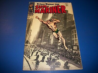 Sub-Mariner #7 Silver Age Great Cover Wow