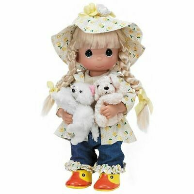 Precious Moment Raining Cats and Dogs Doll-4563