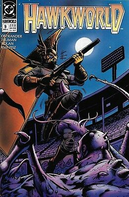 Hawkworld Comic Issue 9 Copper Age First Print 1991 Ostrander Truman Nolan DC