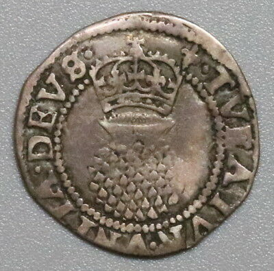 1608 1619 James I Silver 2 Pence 1/2 Groat Great Britain Coin (18042509R)