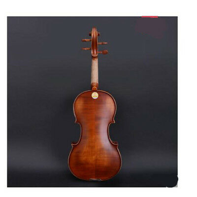 E11 Handmade 4/4 Full Size Wooden Violin Beginners Practice Musical Instrument M