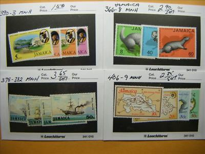 9459 Jamaica Lot of 4 Mint Stamp Packs