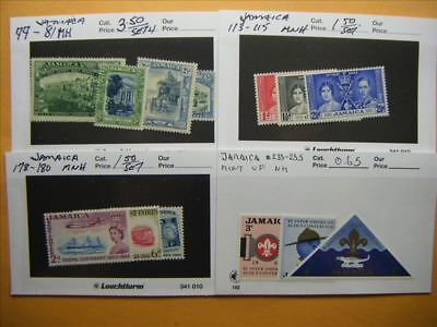 9467 Jamaica Lot of 4 Mint Stamp Packs