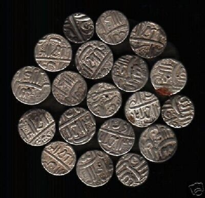 INDIA DELHI SULTAN AKBAR 15th CENTURY ONE PCE SILVER COIN INDIAN CURRENCY MONEY