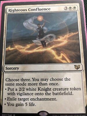 1x RIGHTEOUS CONFLUENCE - Rare - Modern Masters - MTG - NM - Magic the Gathering
